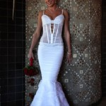 Diana wedding gown front